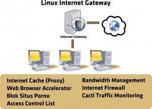 Server Linux Getway System