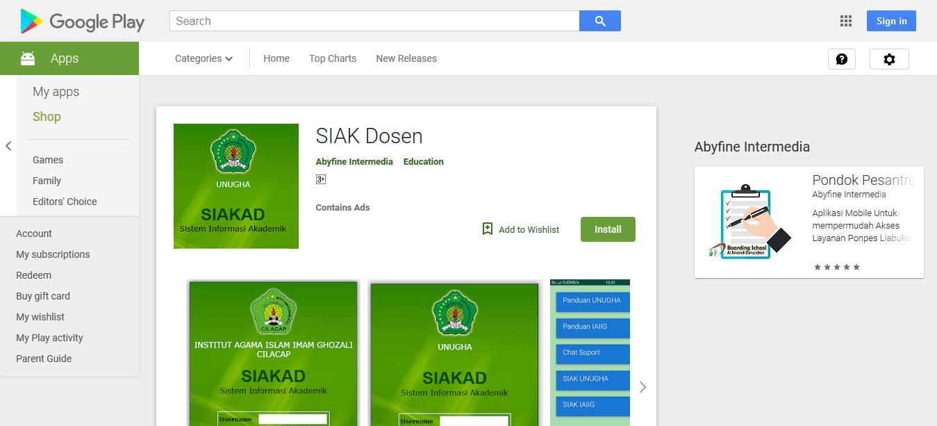 Jibas Server Online Dan Aplikasi Android