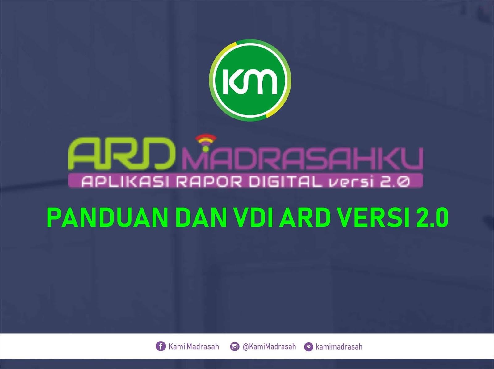 Aplikasi Raport Digital (ARD) Berbasis VDI Terbaru